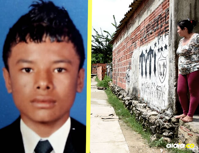 En este lugar, a la vuelta de su casa, fue asesinado Luis Eduardo Márquez Mendoza, de 18 años   ALDÍA