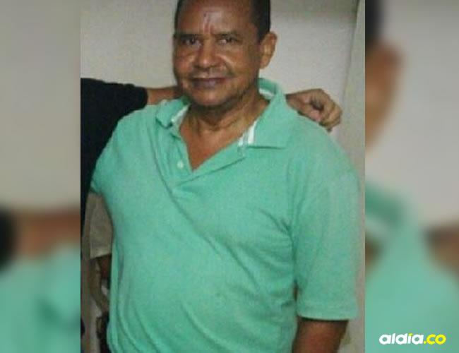 osé Enrique Tejedor Molina, de 61 años, fue asesinado en medio de una traco | Cortesía