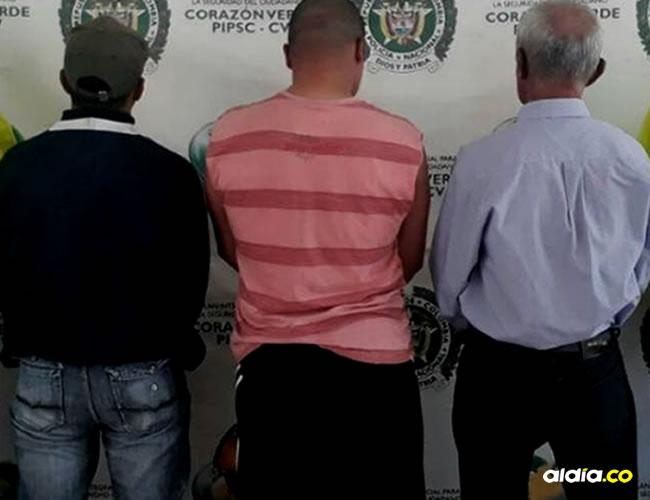 Los tres hombres fueron capturados mediante la orden judicial por el delito de abuso sexual contra menor de 14 años | Policía de Antioquia
