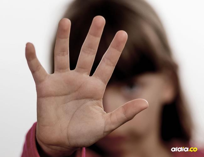 La imagen de la niña abusada se ve en el video muy claramente | ARCHIVO
