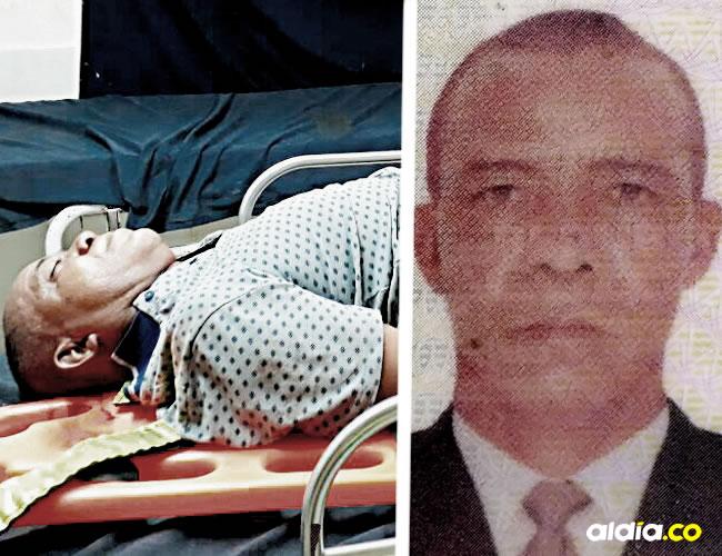 El trabajador de finca Sixto Tulio Acosta Cabana, de 55 años, murió luego de ser embestido por un furgón cargado con productos lácteos en la Troncal de Oriente, frente al corregimiento de Santa Rosalía (Zona Bananera) la noche del domingo.