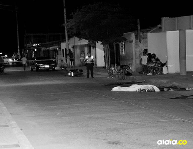 El accidente fue a las 3:00 de la madrugada de ayer domingo en la calle 18E con carrera 35, barrio Francisco de Paula | Al Día