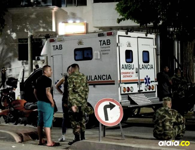 Testigos aseguran que el militar perdió el equilibrio y cayó desde un quinto piso | Cortesía
