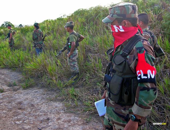 Miembros del Ejército de Liberación Nacional | Archivo