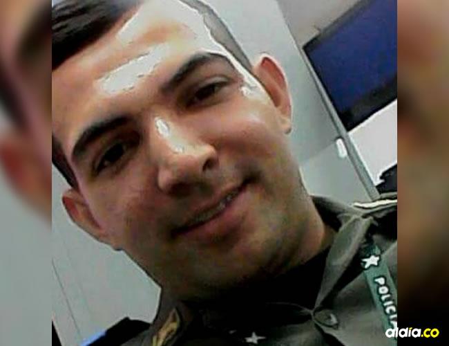 Kemer Cervantes Ocampo, el patrullero de la Sijín asesinado en la madrugada de este domingo | AL DÍA