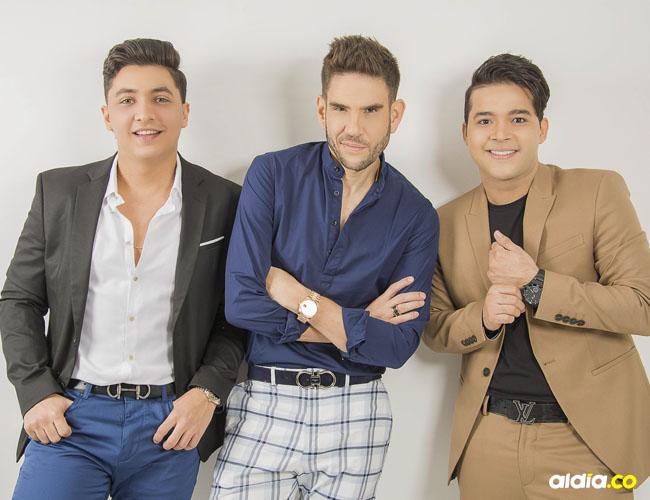Julio César Rojas (izq.) y Carlos Mario Parra (der.) son los vocalistas.