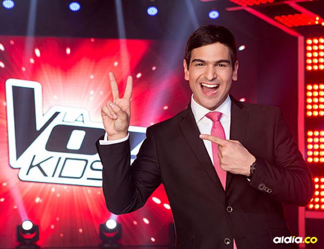 Alejandro Palacio, presenta por tercera vez el reality 'La Voz Kids'. | Tomada de Internet