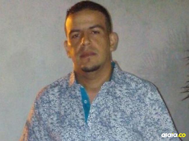 Álvaro Enrique Peña fue asesinado de un disparo en la cabeza.   Al Día