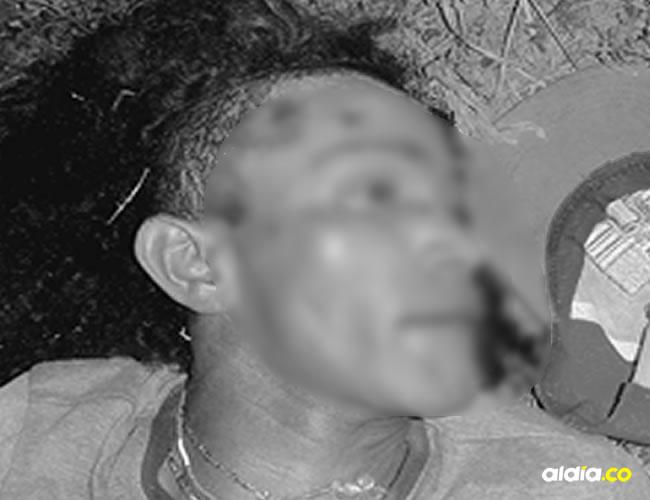 El cadáver de García quedó tendido en el lugar donde se enfrentó a golpes con Amaya. | AL DÍA