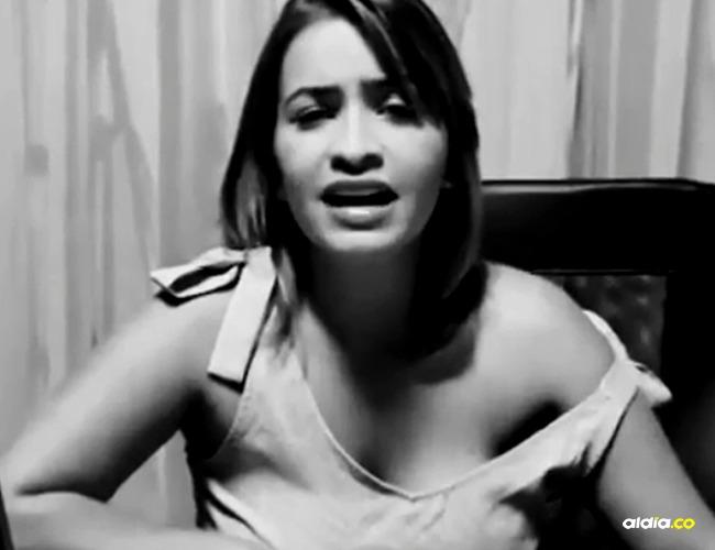 Anny Sarmiento expareja de Yader Romero, vocalista de Kvrass I Captura Instagram