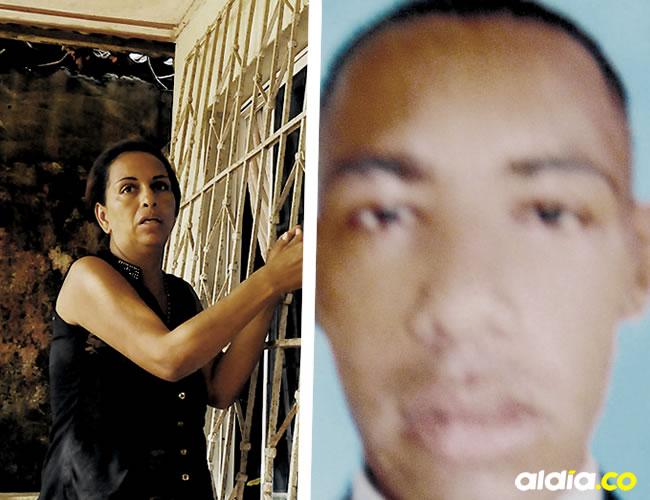 Claudia Cabrera Castro, tía de la víctima, explica cómo asesinaron a su sobrino en la terraza de su casa   ALDÍA