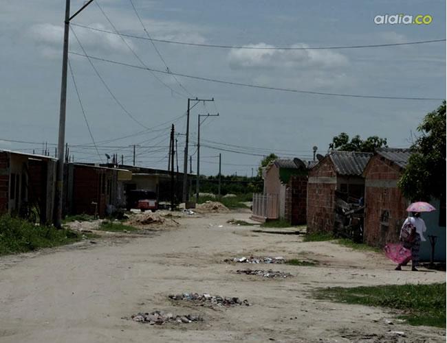 En la urbanización Marta Gisela, de Soledad; fue herido mortalmente Luis Bermúdez Torres.