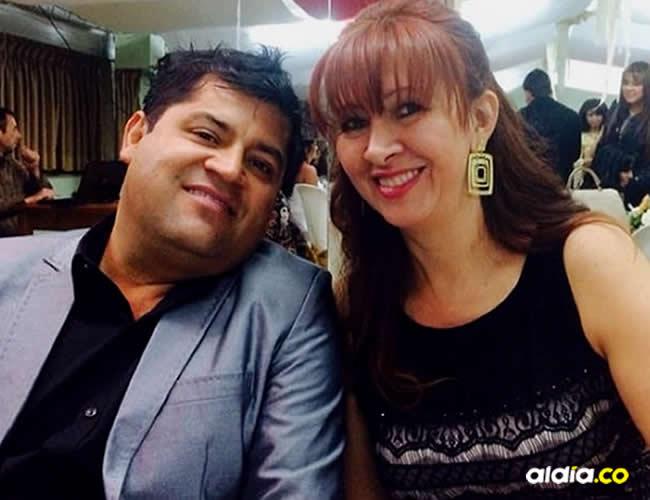 Alonso Orjuela Pardo y su esposa Bertha Cecilia Rueda | Facebook