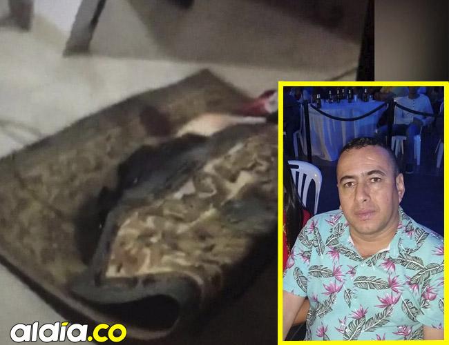 Así, enrollado en una alfombra y amarrado con cabuya, encontraron el cadáver de Aracelis del Socorro Amador de García.