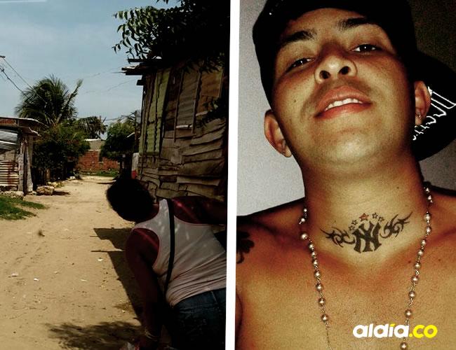 En este lugar ocurrió el asesinato del mototaxista, carrera 9A con calle 19, sector La Cangrejera, en La Playa
