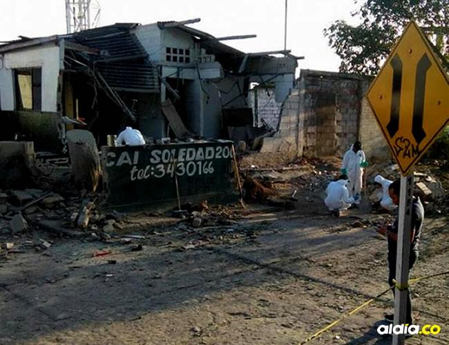 este segundo ataque, al parecer, estaba preparado para ejecutarse en simultáneo con el ocurrido con la Estación San José | El Heraldo