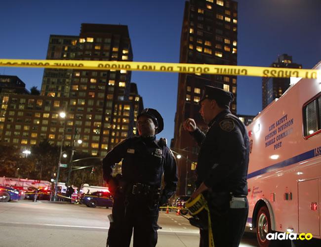 Fue el primer acto vinculado al terrorismo en Nueva York desde la explosión de una bomba casera en septiembre de 2016 en Chelsea que dejó 31 heridos leves | AFP
