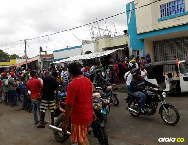 En la carrera 17 entre calles 8 y 9 en el barrio Santander, en el municipio de Maicao, ocurrió el atraco. | Al Día