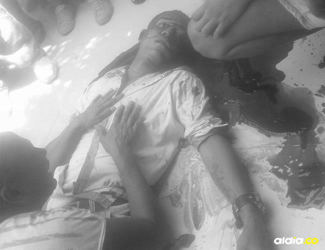 Eduardo Soto Herrera fue asesinado por sicarios que le propinaron dos impactos de bala en la cabeza dejándolo sin vida sobre la terraza de la vivienda donde departía con amigos. | Al Día