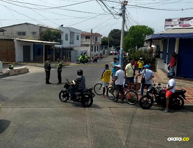 En esta esquina de San Felipe fue baleado el estudiante de médicina. | AL DÍA