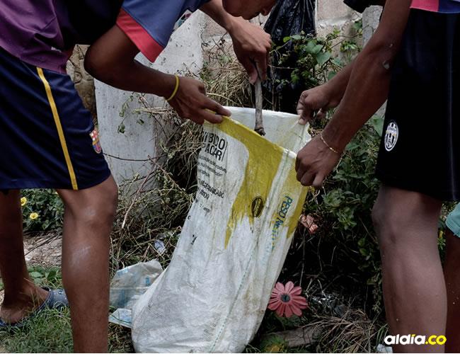 En un saco encontraron restos de un niño, al parecer de año y medio | Héctor Palacio