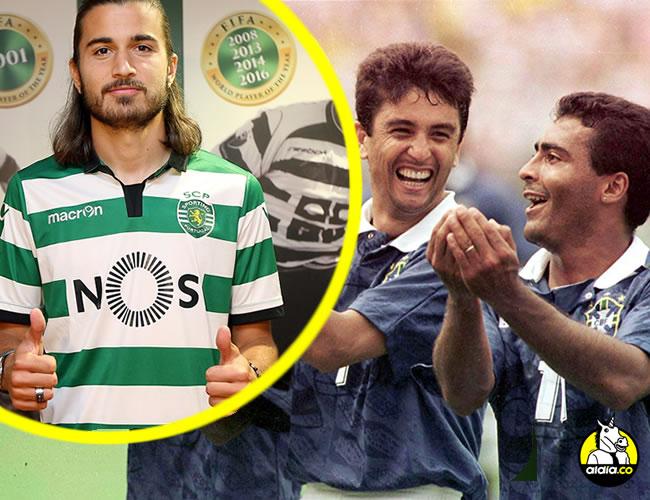 Mazinho (izquierda) y Romario (derecha) se unieron al festejo de Bebeto (centro), que dedicó el gol a su hijo Mattheus