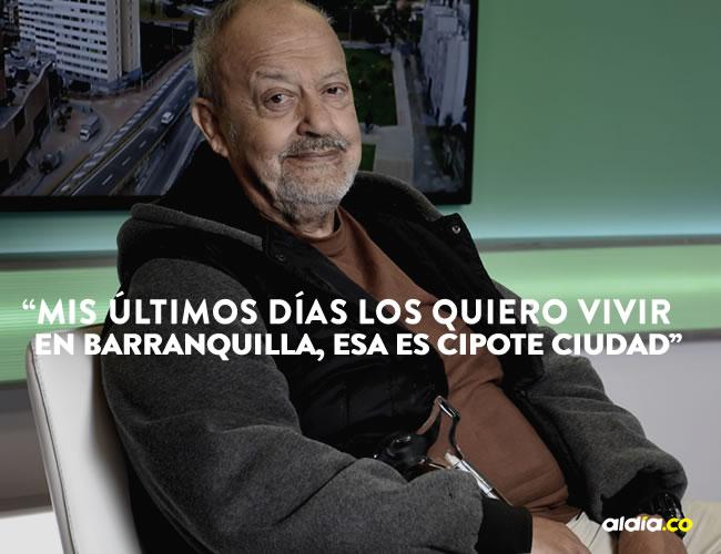 Carlos Benjumea Guevara, de 74 años, es uno de los grandes referentes de la televisión nacional.