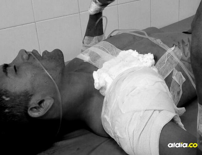 Francisco Farid Alfaro Soto, el joven apuñalado en el pecho   AL DÍA