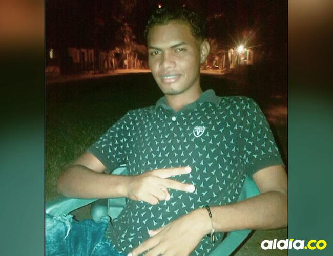 Brayan José Martínez Yance, asesinado.