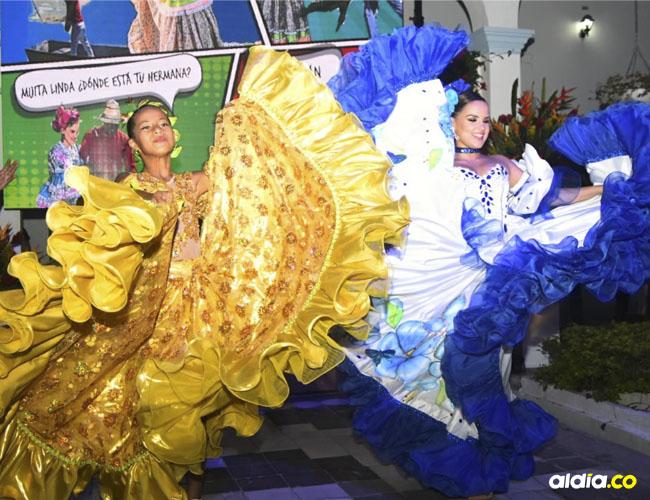 Las Reinas Central e Infantil demostraron todas sus dotes artísticas en el lanzamiento de Festival del Caimán 2019.