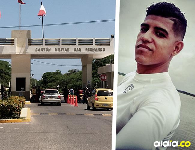 Robin Antonio Palomino Castilla, de 24 años, era de Malambo (Atlántico), y su cuerpo fue hallado muerto en la piscina