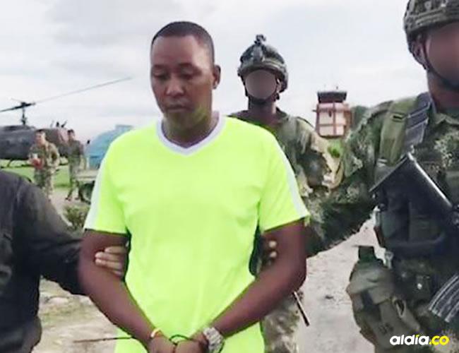 Juan Gabriel Arizala Vernaza, capturado en la tarde del martes. | Al Día