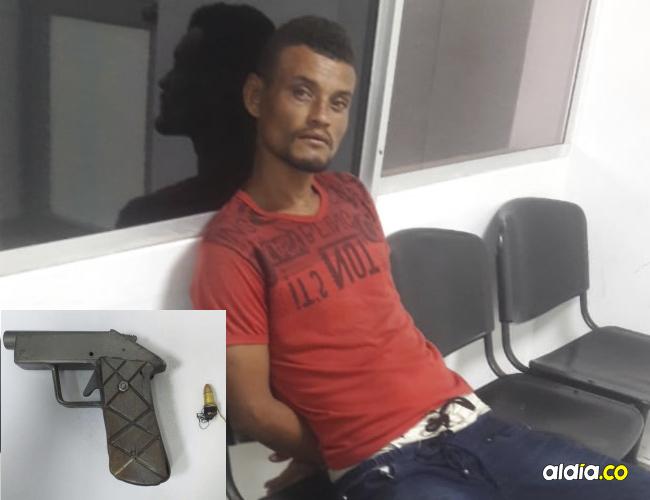 Los dos capturados fueron presentados ante un fiscal en la URI de Riohacha.