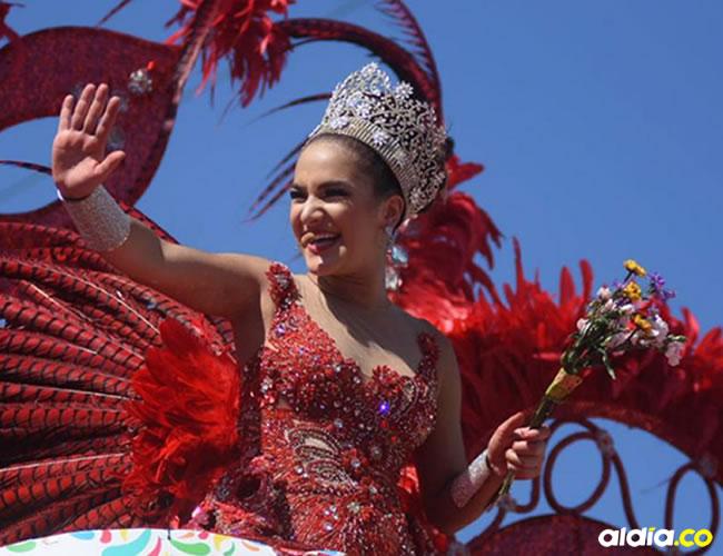 La reina del Carnaval, Valeria Abuchaibe, comandó la sabrosura en la Vía 40   El Heraldo