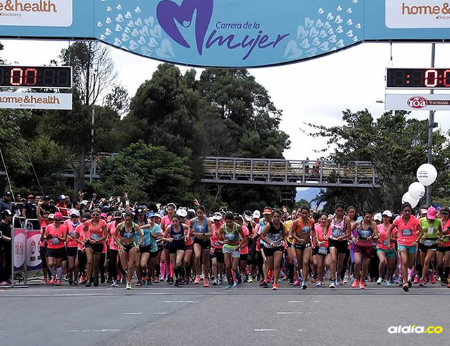 La Carrera de la Mujer reunió unas 17 mil mujeres este 17 de septiembre, en Bogotá   Colprensa