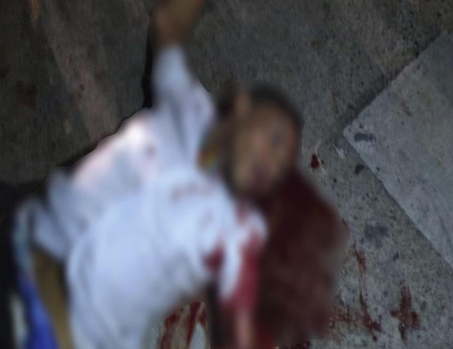 El presunto ladrón fue conducido herido en ambulancia a un centro asistencial de la ciudad.