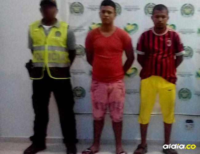 Los capturados fueron identificados como Eduardo Marín 'El chamán' y Manuel Flórez | Al Día