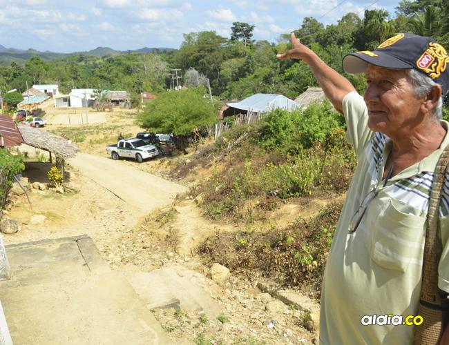 Alejandro Oviedo Meriño es uno de los sobrevivientes de la masacre en Chengue, corregimiento del municipio de Ovejas. Él, al igual que muchos otros, entre esos Jairo Barreto, el líder de este territorio, lucha para que la reparación llegue y pronto.
