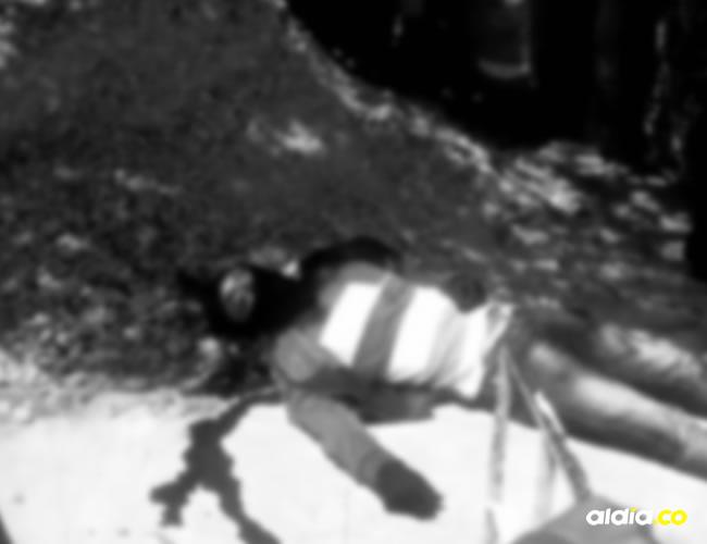 El cobradiario Felipe Rincón Carreño murió de manera instantánea tras ser baleado por el parrillero de una moto. | AL DÍA