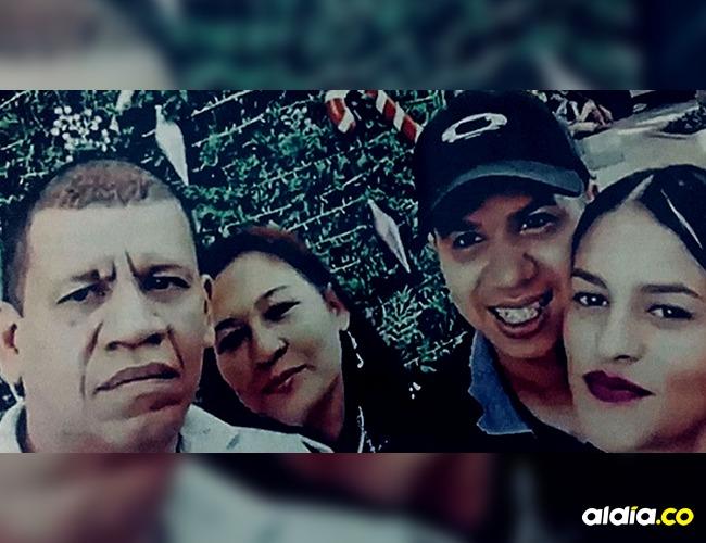 Néstor Raúl Espinoza, Carmen Urrego, Joan Sebastian Espinoza y Yesly Góez Guisao I Foto: Especial Proceso