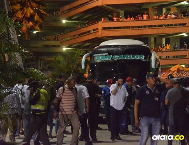 El sábado 18 de noviembre el encuentro entre Junior y Deportivo Pasto fue suspendido   El Heraldo