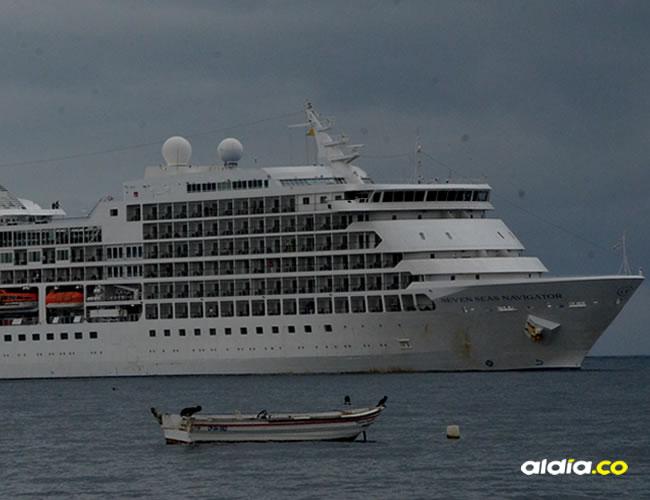 El barco tiene 245 suites con vista al mar | José Puentes Sobrino