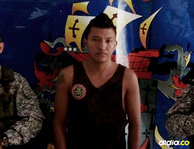 Carlos Mario Herazo fue capturado en Morroa | Cortesía