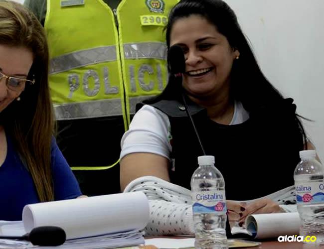 Dayana Jassir (derecha) en una audiencia junto a su abogada Yaneth Ortiz | Archivo