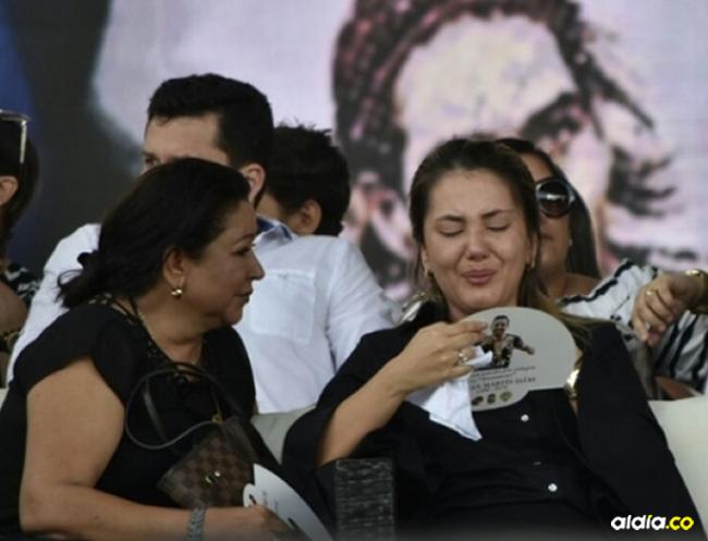 Patricia Acosta (izq.) junto a su nuera Dayana Jaimes. | Al Día