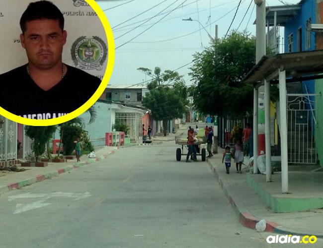 En esta cuadra, ubicada en la carrera 7C con calle 88, fue asesinado Édgar Rincón Medina, ex miembro de las Farc. | AL DÍA