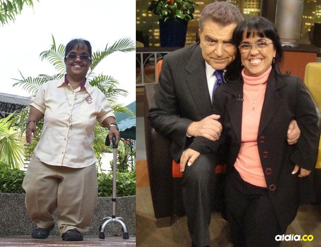 Karina Rojas es docente, conferencista y activista de los derechos de las personas de talla baja.