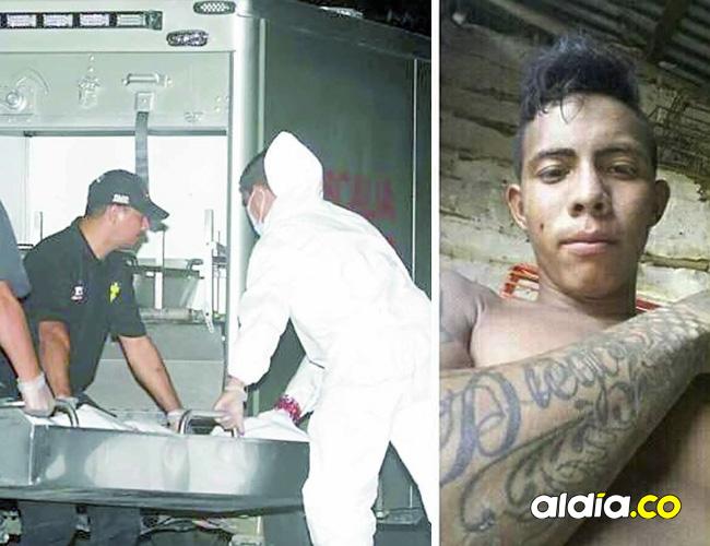 Diego Andrés Pájaro Tapias, de 18 años, 'Dieguito', fue asesinado de varios disparos.