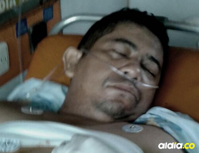 Milton Castro López, un comerciante de Plato conocido como Tutela, resultó gravemente herido luego que a un amigo se le disparara un arma de fuego | Cortesía