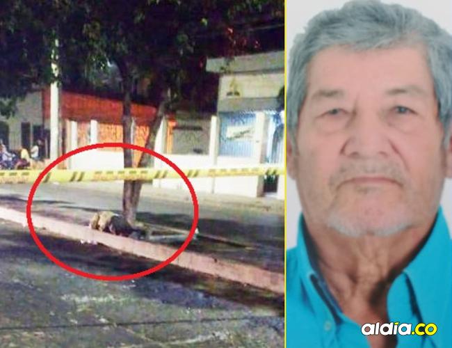 José Marciales Villamizar, de 72 años, fue hallado muerto en el separador de la Avenida de los Estudiantes con calle 17.